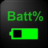 icono Porcentaje de batería