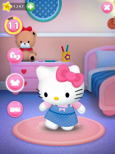 Talking Hello Kitty - Virtual pet game for kids  screenshots 12