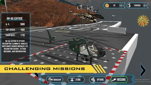 GUNSHIP COMBAT - Helicopter 3D Air Battle Warfare 1.45 screenshots 7