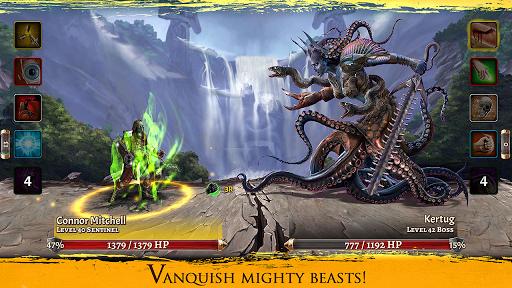 Code Triche Eterna: Heroes Fall - Deep RPG apk mod screenshots 4