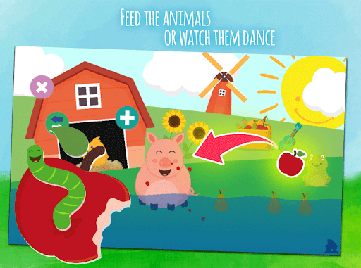 Animals & fruits -  game for toddlers from 1 year 1.0.4 screenshots 3
