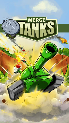 Merge Tanks: Funny Spider Tank Awesome Merger modiapk screenshots 1