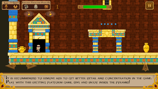 Inside the pyramid: the tomb of the Pharaoh Screenshot