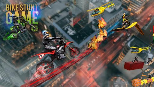 Bike Stunt Trick Master- Bike Racing Game 2021 screenshots 3