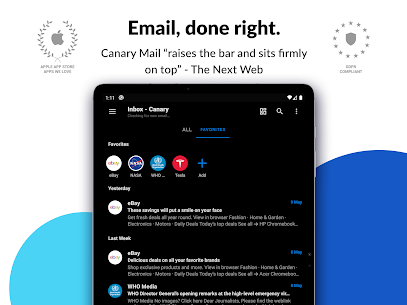 Canary Mail Mod Apk: Email App (Pro Features Unlocked) 8