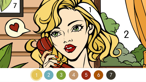 Coloring - color by number 1.1.7 screenshots 6