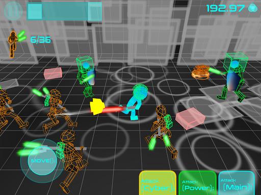 Stickman Neon Warriors: Sword Fighting screenshots 9