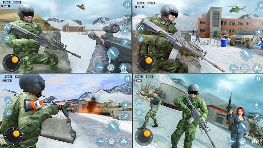 Modern Commando 3D Mod Apk 1.0.3 [Mega mod] 10