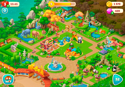 Wildscapes Mod APK for Android – (Infinite Moves & Coins) 6