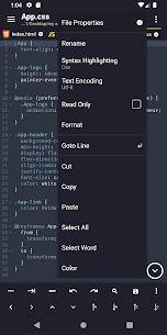 Acode v1.4.162 Mod APK 2