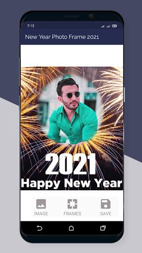 Happy New Year Photo Frame 2021  Screenshots 4