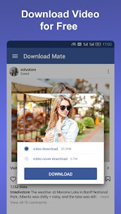 Download Mate v2.0.0 MOD APK – Photo & Video Downloader, Saver, Player 1