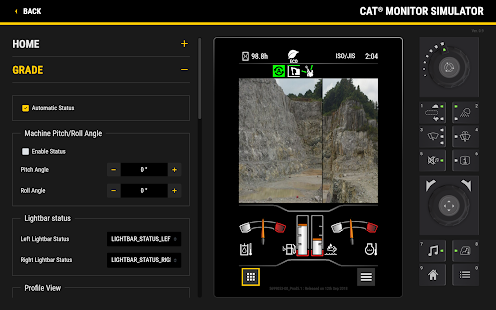 Cat® Monitor Simulator