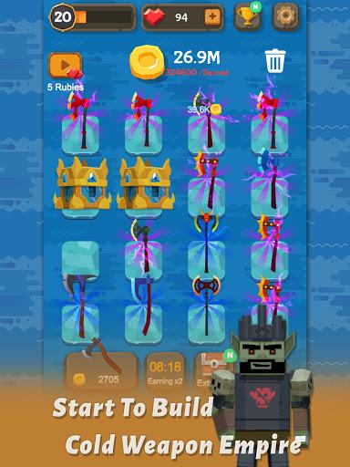 Merge Axe - Idle Blacksmith Master modavailable screenshots 10