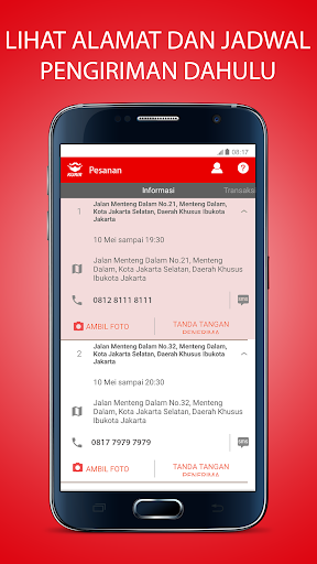 MrSpeedy: Courier App in Indonesia modavailable screenshots 2