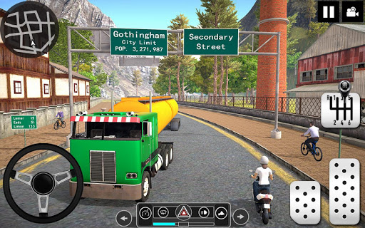 Oil Tanker Truck Driver 3D - Free Truck Games 2020 android2mod screenshots 6