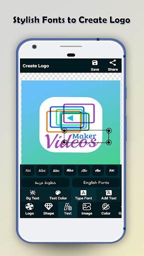 Logo Maker - Logo Creator & Poster Maker 2.1.3 Screenshots 2