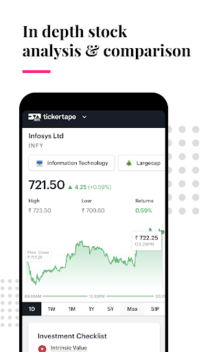 Tickertape - Indian stocks analysis & forecasts  screenshots 3