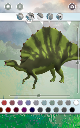 Dinosaurs 3D Coloring Book modavailable screenshots 16