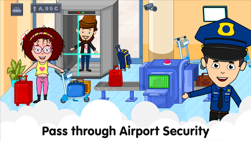 My Airport Town: Kids City Airplane Games for Free 1.6.1 Screenshots 10