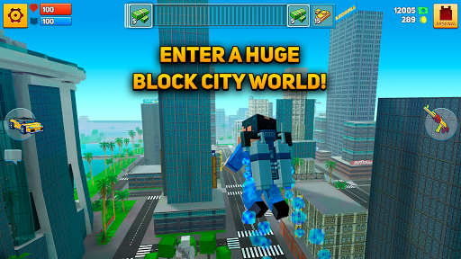 Block City Wars: Pixel Shooter with Battle Royale apktram screenshots 10