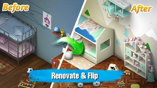 Room Flip APK MOD Hack (Dinero Infinito) 1
