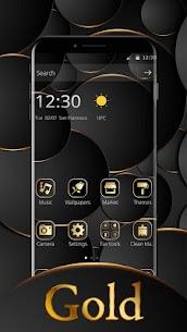 Gold Black Business For Mate 20 1.1.3 APK + MOD Download 3