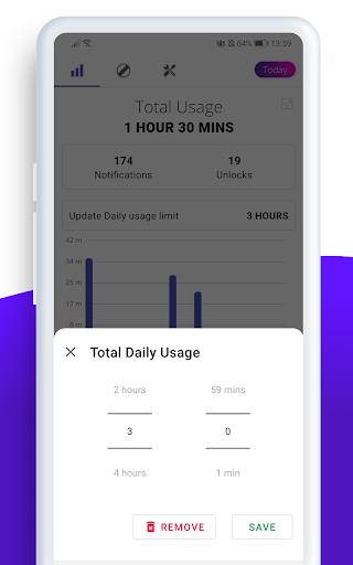 Digitox : Digital Wellbeing - Screen Time 4.3.1 screenshots 6