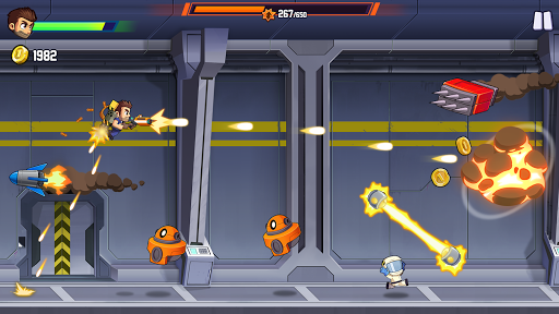 Jetpack Joyride 2: Bullet Rush apkslow screenshots 1