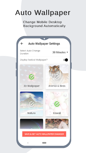 4K Wallpapers - 4D, Live Background, Auto changer 2.4.7.6.3 Screenshots 7
