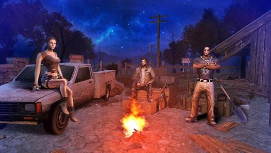 Death City: Zombie Invasion Mod Apk (Unlimited Money) 3