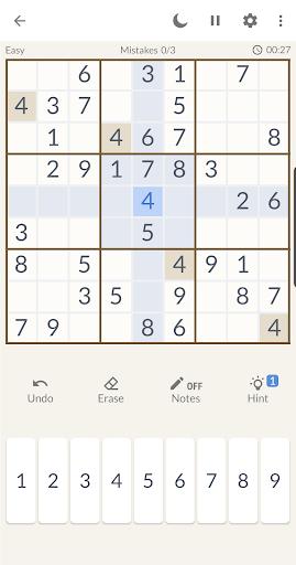 Sudoku Free - Sudoku Offline Puzzle Free Games 1.0.3 screenshots 2