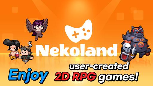 Nekoland: 2D MMORPG created by users 2.102 screenshots 1