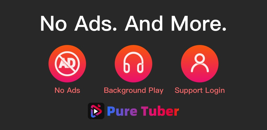 Pure Tuber - No ADs Tube and Free Advanced Premium  poster 0