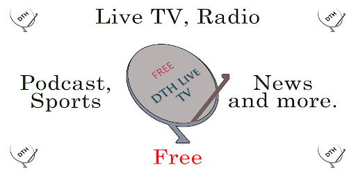 DTH Live TV - DD TV & Radio - Sports tv, फ्री डिश - Apps on Google Play