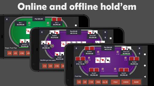 poker pocket - best free hold'em casino poker game screenshot 1
