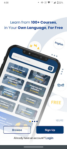 Free Online Courses & Tutorials + Certi LearnVern android2mod screenshots 2