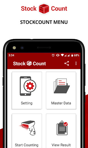 stock count (inventory scanner) stock take opname screenshot 1