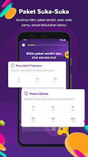 AXISNET u2013 Cek & Beli Kuota, Promo Paket Internet 7.9.0 Screenshots 4