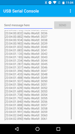 USB Serial Console  screenshots 2