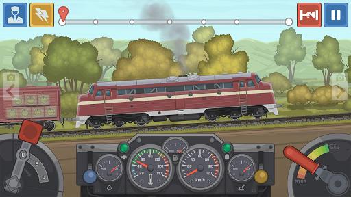 Train Simulator - 2D Railroad Game  Pc-softi 3