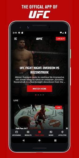 UFC screenshots 1