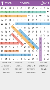 Word Search Screenshot