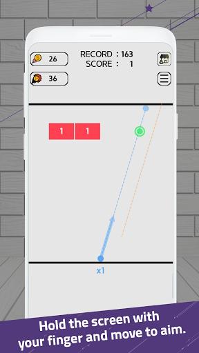Swipe Brick Breaker 1.4.28 screenshots 1