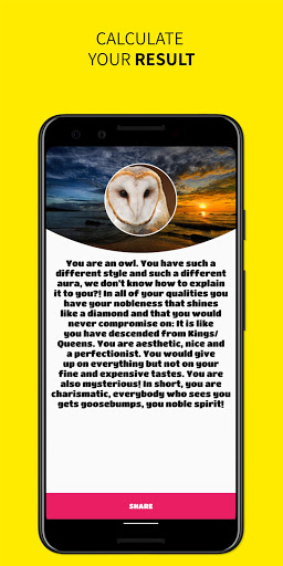 Which Animal Are You? - Personality test  screenshots 3