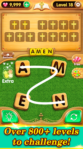 Bible Word Puzzle - Free Bible Word Games 2.11.29 pic 2