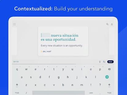 Lingvist: Learn German, French, Spanish vocabulary Screenshot