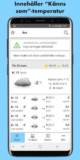 SMHI Vu00e4der 3.0.20 Screenshots 1