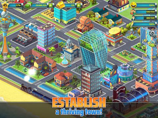 Town Building Games: Tropic City Construction Game 1.2.17 Screenshots 9