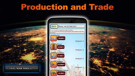 Global War Simulation Lite Strategy War Game v23 LITE Screenshots 3